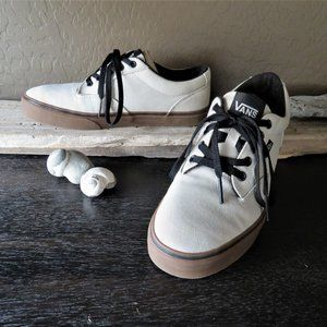 VANS Off the Wall Canvas + Gum Skater Sneakers EUC